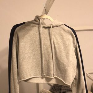 Cropped pacsun hoodie